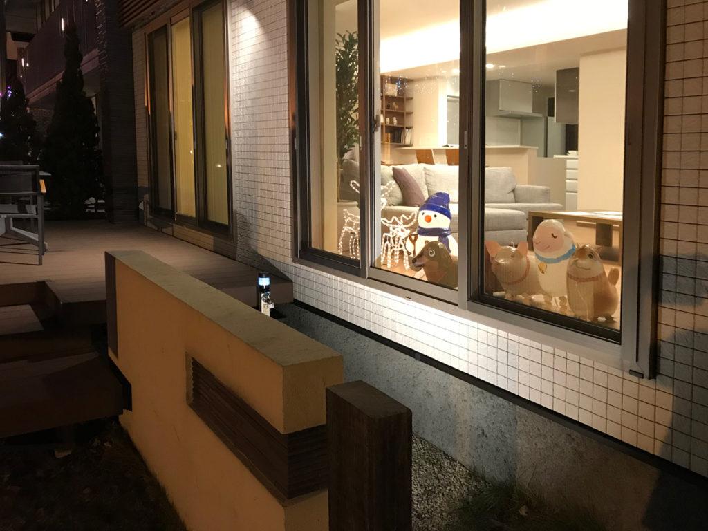 MHC札幌会場_リビング外から夜1201