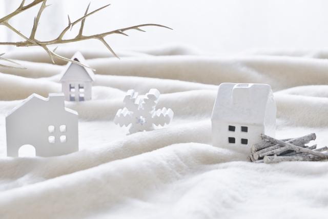 雪国の家のイメージ