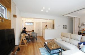 ライフスタイルを反映した、こだわりデザイン満載のお住まい