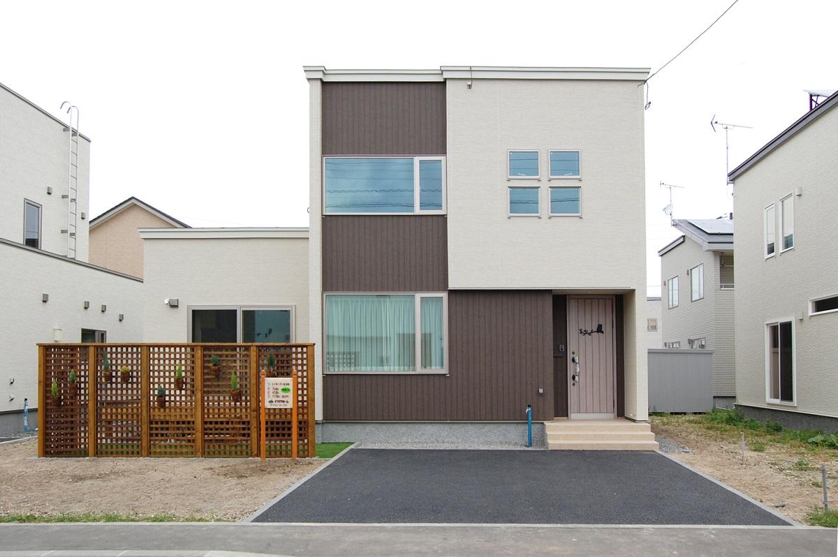 一戸建て住宅の外観