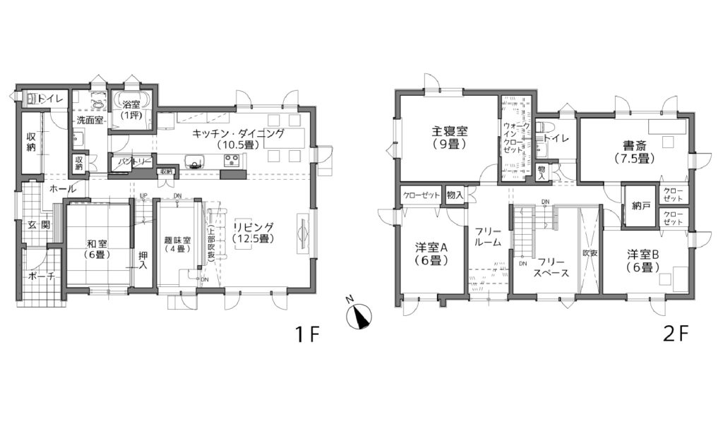 札幌市 Y様邸の間取り図