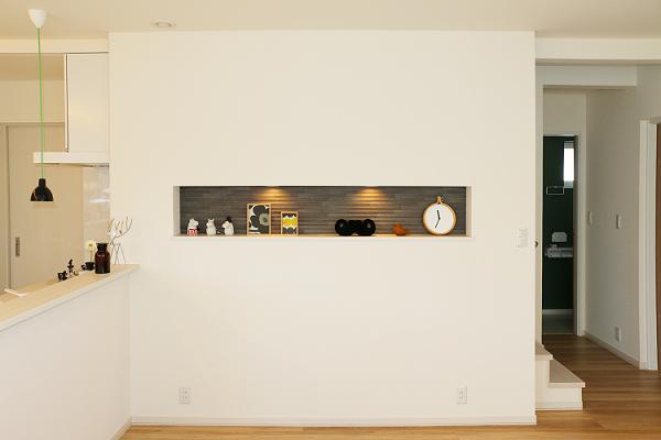 モデルハウス施工例 ニッチスペース