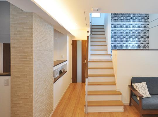 モデルハウス施工例 柱