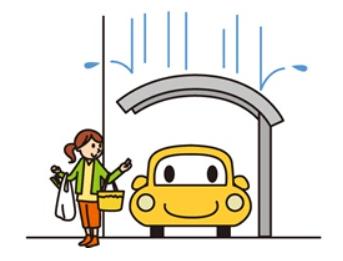 降雨時のカーポートの役割