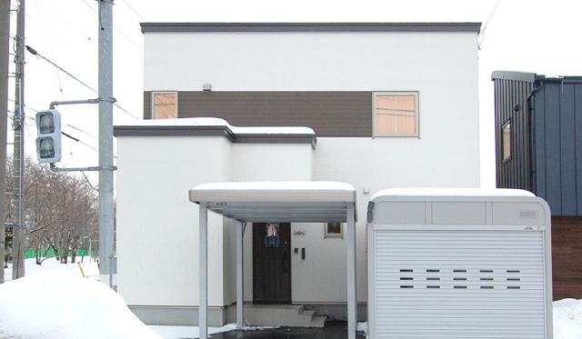 札幌市 N様邸 カーポート実例