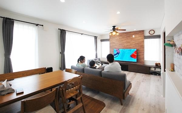壁掛けテレビ施工事例(M様邸)