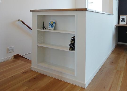 ウッドワンの書棚